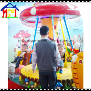 Mushroom Swing Ride for Children From Factory pictures & photos