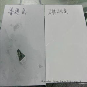 Green Synthetic Paper Stone Paper No Pollution No Acid pictures & photos