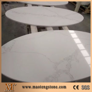 Pure White Quartz Stone Table Top Factory Price pictures & photos