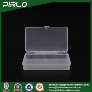 Rectangular Translucent Color PP Plastic Box with Hing Lid Multifunctional Small Box pictures & photos