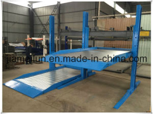 Car Vertical Parking Ce Hydraulic Two Post Car Lift pictures & photos