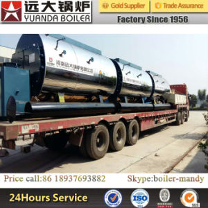 Horizontal and Industrial Usage Oil/Gas Fired Steam Boiler Price pictures & photos