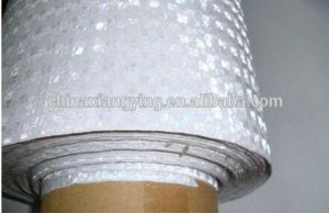 Reflective Materials Red and White Car Reflective Film pictures & photos