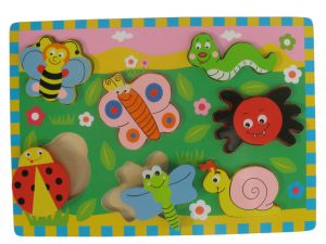 Wooden Puzzle Toys Chunky Puzzle (33325) pictures & photos