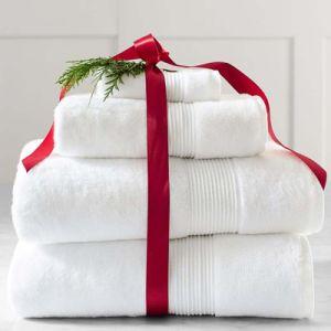 7 Star Luxury Hotel Super Zero Twist Oversized Bath Towels (DPF201612) pictures & photos