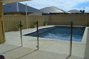 Swimming Pool Glass Balustrade with Glass Door pictures & photos