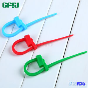 Multi Use Set of 6 Silicone Cable Ties Zippeable Bag Tie pictures & photos