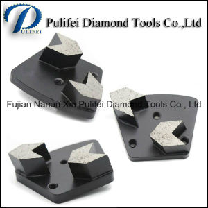 Concrete Floor Metal Tools Diamond Segment Grinding Pad