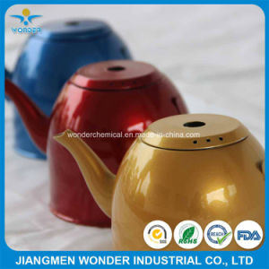 Double Layers Mirror Chrome Candy Powder Coating Paint for Stainless Steel Kettle pictures & photos