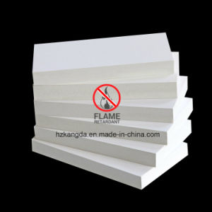 23mm Fire Retardant (Glass A) PVC Foam Board From China Good Manufacture pictures & photos