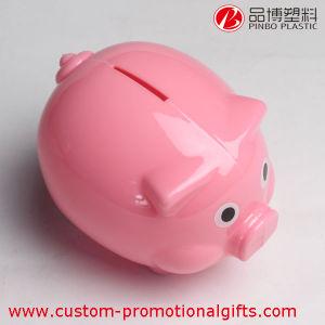 Customized Pig Design Fashion Cheap Plastic Piggy Bank
