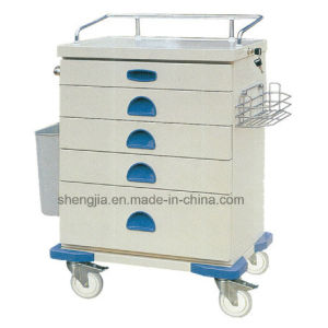 Sjt092 Luxurious Anethesia Cart