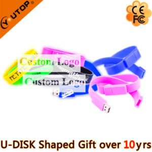Silicone Sports Gift Wristband/Bracelet USB Pendrive (YT-6301) pictures & photos