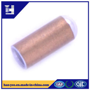 Customized Hollow Round Pipe Brass Connector pictures & photos