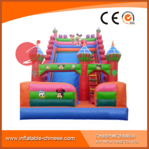 2017 Happy Park Inflatable Gigraffe Dual Lanes Super Slide (T4-249) pictures & photos