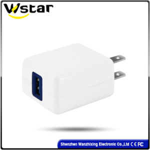 Hot Sale 5V2a10W Single USB Charger with Us Plug pictures & photos