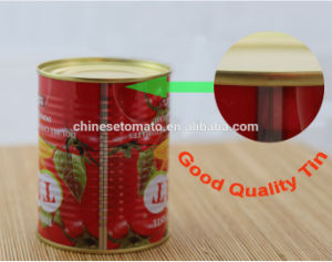 Concentrated Tomato Paste 70g Tins pictures & photos