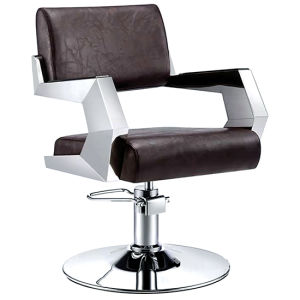 Cutting Station Black Salon Chair Styling Chair Barber Chair pictures & photos