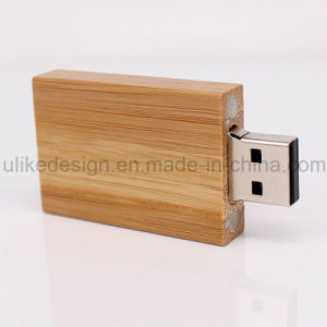 Simple Design Wooden USB Flash Drive (UL-W010-02) pictures & photos