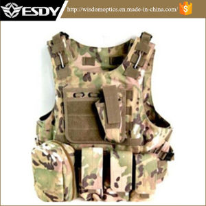 Cp Camo Military Tactical Combat Molle system Army Vest pictures & photos