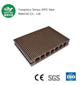 Hollow WPC Decking with Ce pictures & photos