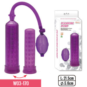 """8.5""""Pump with Full-Size Long and Nubby TPE Sleeve and Small Bulb for Adult Sex Toy pictures & photos"""
