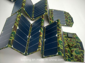 40W Porable Solar Power Charger with 2 USB Chargers pictures & photos
