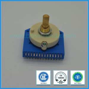 39mm Copper Shaft Multi-Way Rotary Route Switch pictures & photos