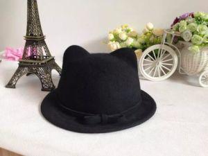 Popular Cat Ears Hat for Kids Wool Children Hat