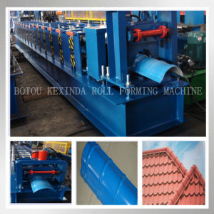 Kxd Roof Ridge Cap Roll Forming Machine pictures & photos