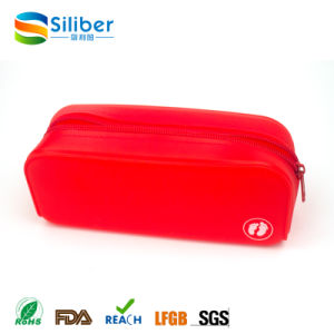 Promotion Cheap Gift School Bag Pen Case Silicone Pencil Bag pictures & photos