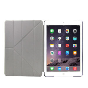 Leather Smart Tablet Case with Standing for iPad pictures & photos