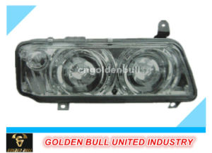 Truck Parts Auman H2 Vacuum Headlamp (double Circle) pictures & photos