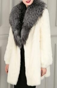 Women′s Fashion Fake Fur Coat OEM Order pictures & photos