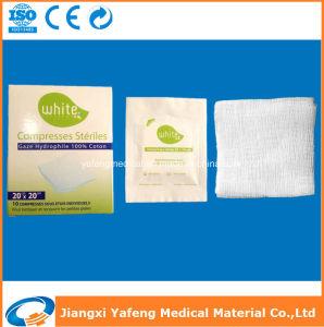40X40cm Medical Disposable Eto Sterile Cotton Gauze Swab pictures & photos