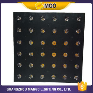 Stage 6X6 Amber DMX Matrix LED  Effect  Lights