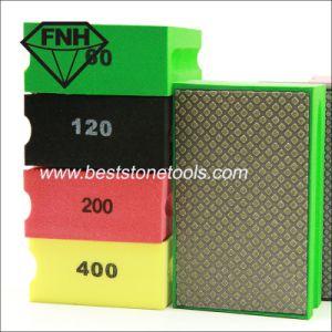 Diamond Hand Polishing Pad for Stone Glass Tungsten Steel (HD-1)
