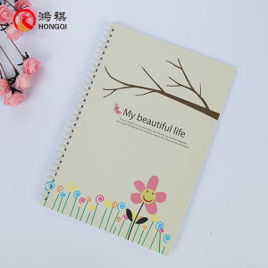 250gms Paper Cover Spiral Notebook pictures & photos
