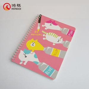 Cartoon Spiral Notebook pictures & photos