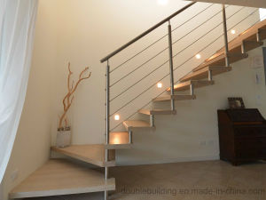 Villa Indoor Staircase Balustrade Cable Stair Railing pictures & photos