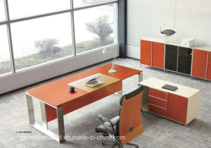 Modern Design Luxury Office Table Executive Desk Wooden Furniture (HF-SIA01) pictures & photos