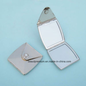 Hot Sell Customized Purse Shape Double Side Pocket Metal Makeup Mirror BPS0220