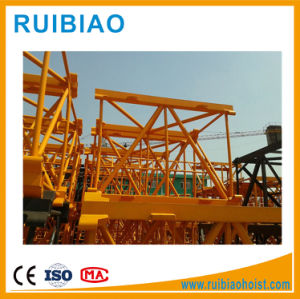 50m Working Radius Tower Crane with Piece Structure Mast Section pictures & photos