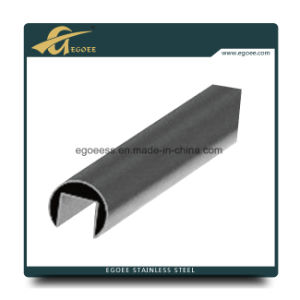 304 316L Brushed Stainless Steel Tube of Slot for Handrail pictures & photos