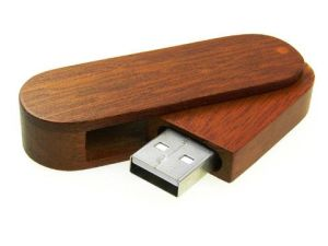 Wooden Bamboo Rotating USB Flash Drive/Pen Drive Wholesale with Top Quality Factory Price pictures & photos