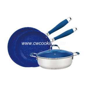 4PCS Stainless Steel Cookware - Fry Pan Casserole pictures & photos