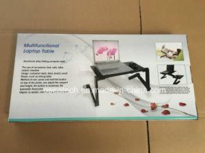 Portable Laptop Desk Stand Folding Computer Desk pictures & photos