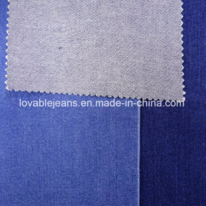 10 Oz Indigo Blue Denim Fabric (T113) pictures & photos