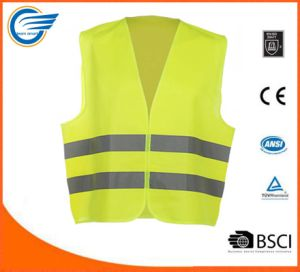 High Visibility Reflective Safety Vest with En20471 pictures & photos
