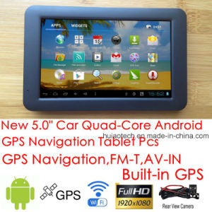 New 5.0inch Capacitive Tablet PCS with Android 6.0 Car Dash GPS Navigator, WiFi; GPS Navigation; AV-in for Rear Parking Camera; Google GPS Map G-5040 pictures & photos